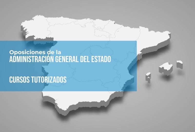 Cursos Online con tutor para la Administración General del Estado